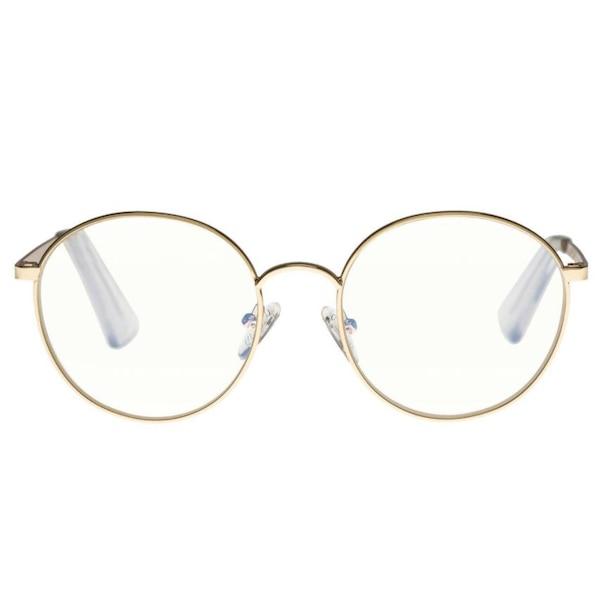Boring Sights Blue light glasses, Gold