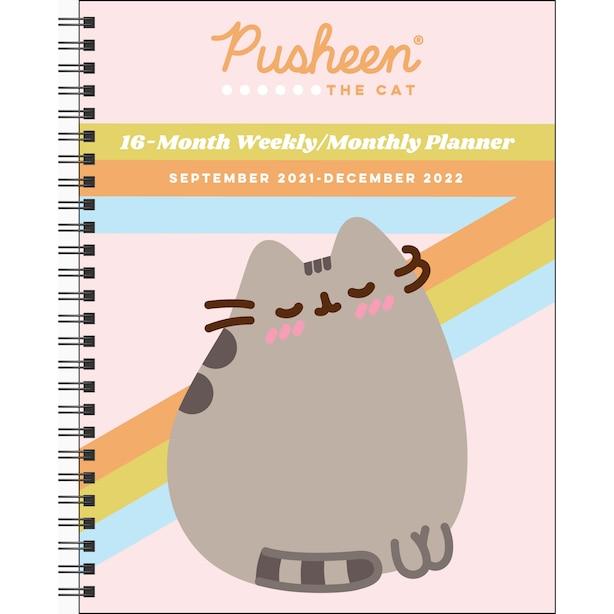 September 2021 – December 2022 Weekly Pusheen Planner