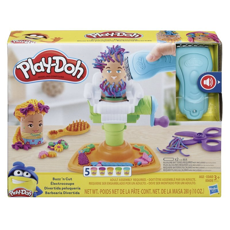 Play Doh Buzz N Cut Fuzzy Pumper Barber Shop Toy With Electric Buzzer And 5 Non Toxic Play Doh Col By Play Doh Toys Www Chapters Indigo Ca